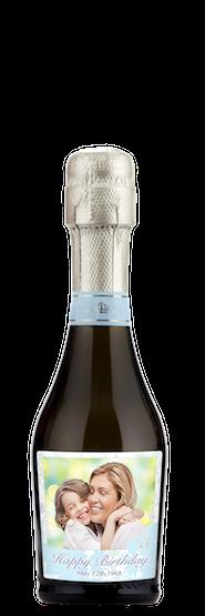Custom mini champagne bottle favor