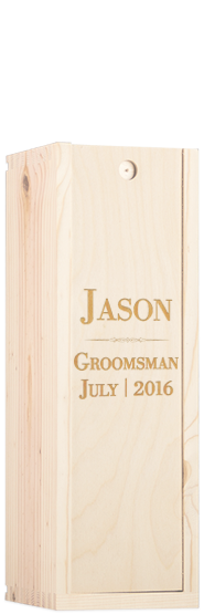 Old Fashioned Groomsman Gift